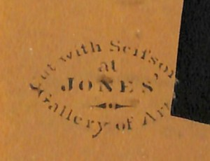 jones gallery label