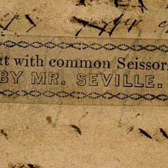 William Seville trade label