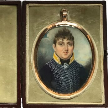 Miniature portrait of Charles Hampden Turner