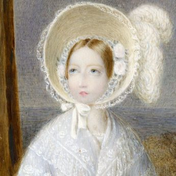 Miniature portrait of Princess Victoria by William Corden