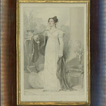 Watercolour portrait of Frederica Charlotte, Duchess of York & Albany painted by William Marshall Craig in 1815