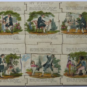 My Father - a rare jigsaw issued in 1812