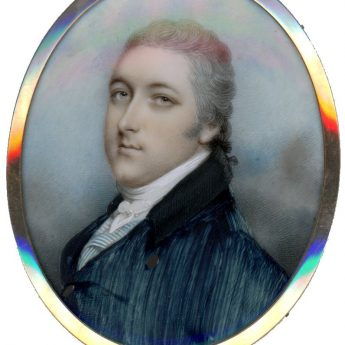 Andrew Plimer, miniature portrait of a gentleman