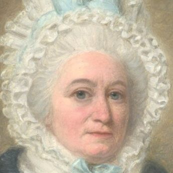 Miniature portrait of a lady by Henry Stubble, dated 1792