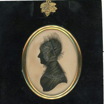 Silhouette of a lady by John Field