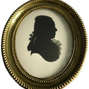Profile of a gentleman by Mrs Lightfoot
