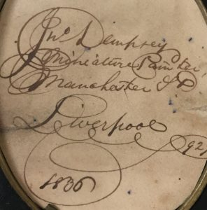 Signature of John Church Dempsey