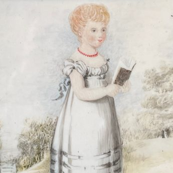 Posthumous portrait of Ann Blundell as a child